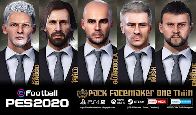 PES 2020 Facepack Manager V1 by One