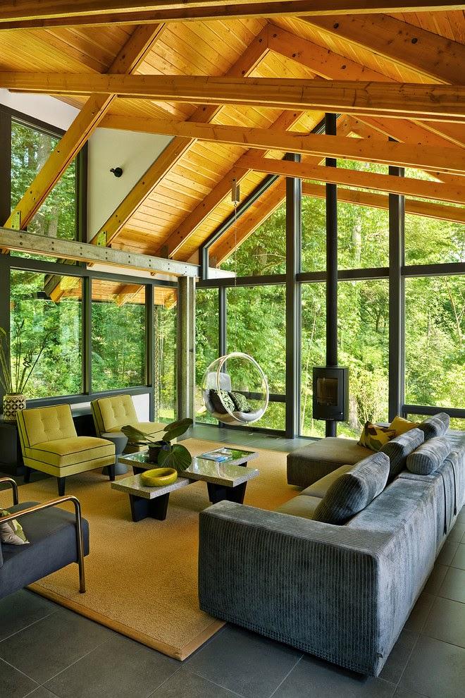 Pour une décoration chaleureuse et une ambiance conviviale, ajouter du bois dans votre intérieur