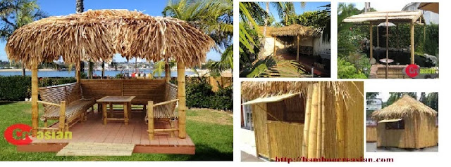 Quality Of Bamboo Thatch In Jacksonvillea Florida A Tiki