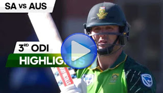South Africa vs Australia 3rd ODI 2020 Highlights