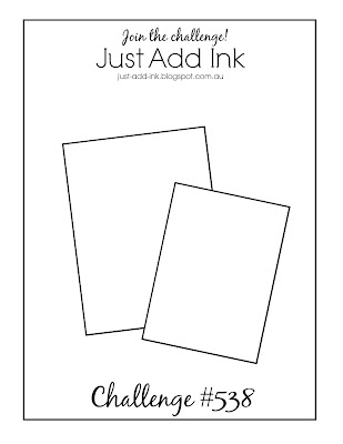 Jo's Stamping Spot - Just Add Ink Challenge #538