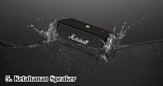 Ketahanan Speaker merupakan tips memilih speaker bluetooth