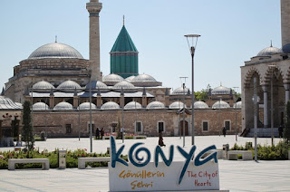 yurtiçinde gezilecek dini yerler mevlana müzesi