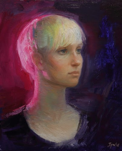 Iluminado em Rosa - Ignat Ignatov e suas mais belas pinturas  ~ Pintora russa