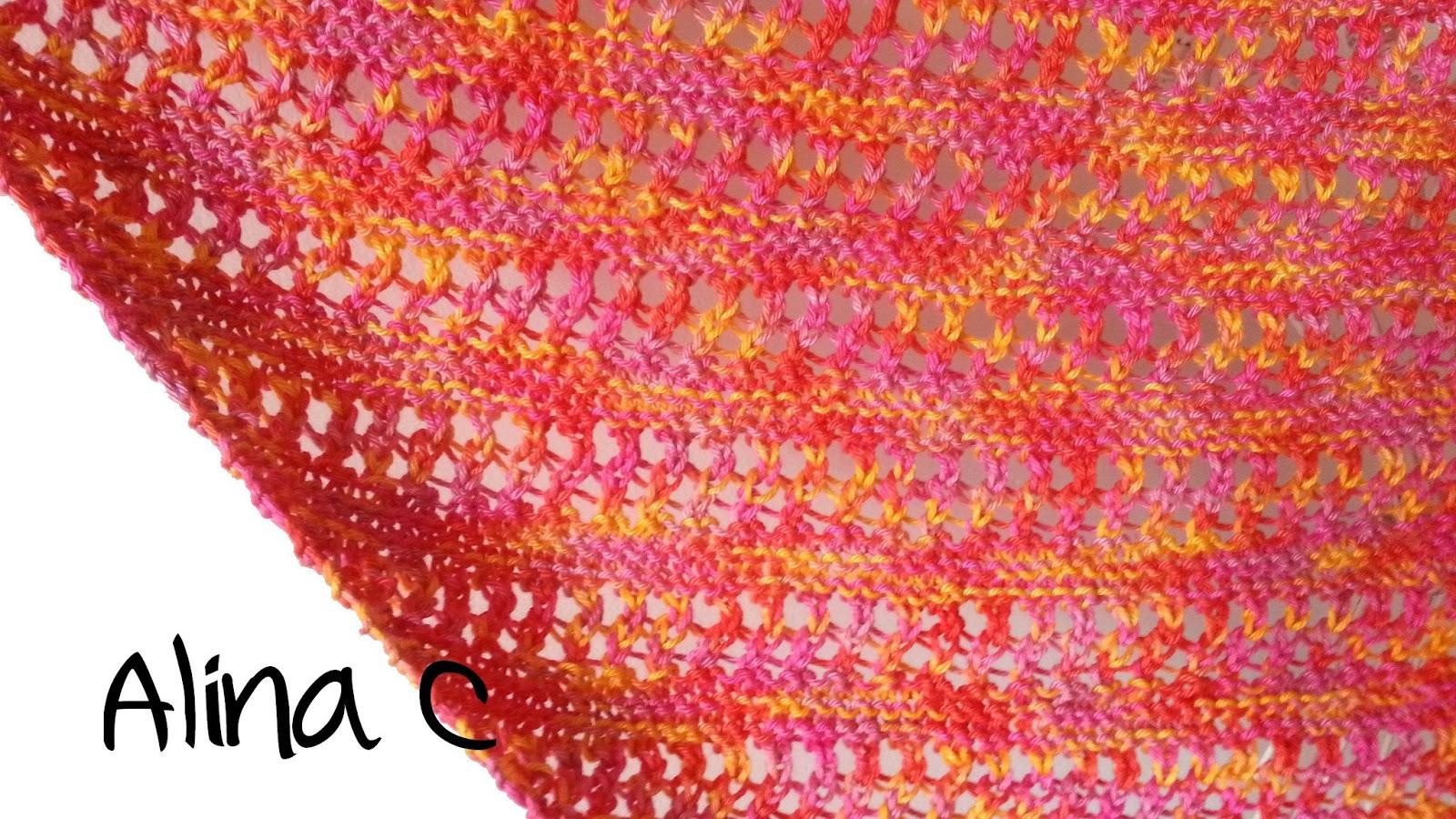 come ottenere funzionario di vendita caldo diversificato nella confezione lo spazio di lilla: lilla's tutorials: scialle ai ferri SOLE ...