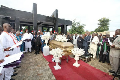 dino melaye mother's grave