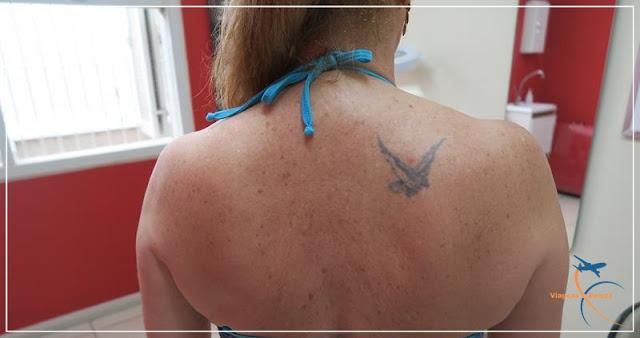 Cobrindo uma tatuagem antiga!