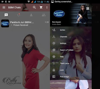BBM Prilly Latuconsina Apk