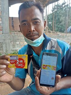 JAmbi Terkena PPKM Indosat Berikan Gratis Kartu Paket 2GB.