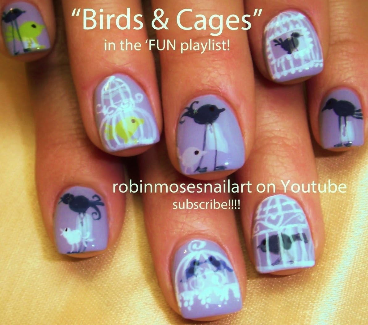 "Love Birds Nail Art: Robin Moses Nail Art: ""bird Nails"" ""bird Nail Art"" ""love"