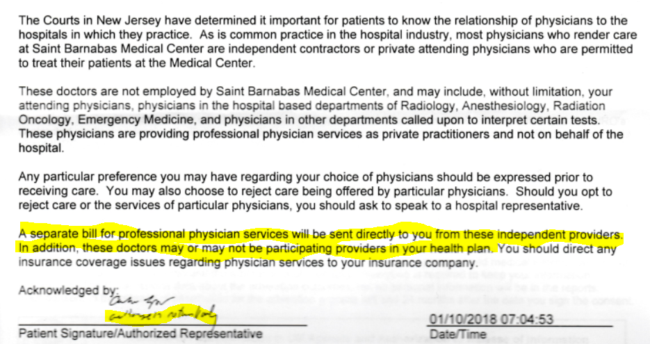 You may balance-bill me at will: This hospital contract is