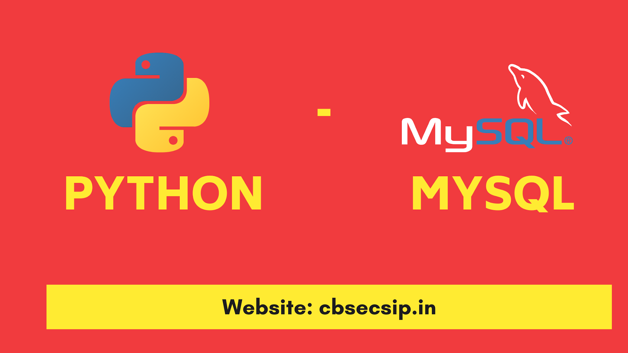 Python MySQL Connector - Download, Install and Use with Examples