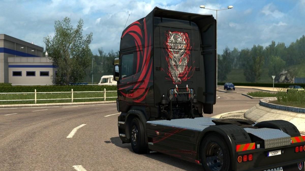Scania RJL Accessio Skin