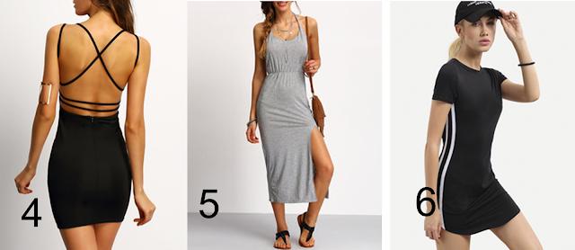 Wishlist da Loja ROMWE - vestidos