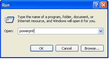 how to open powerpoint