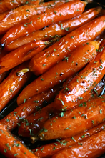 Brown Sugar Baked Carrots