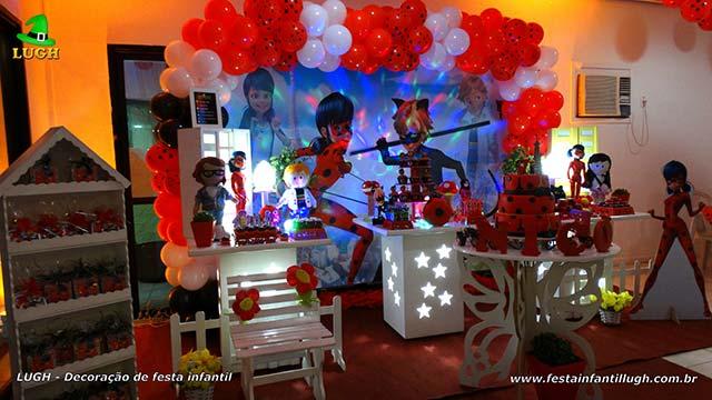 Decoração de festa Miraculous - Ladybug e Cat Noir - Aniversário infantil - Recreio - Rio de Janeiro(RJ)