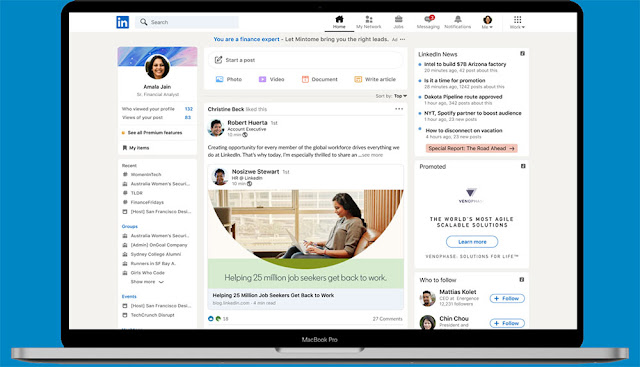 A New Look for LinkedIn: eAskme