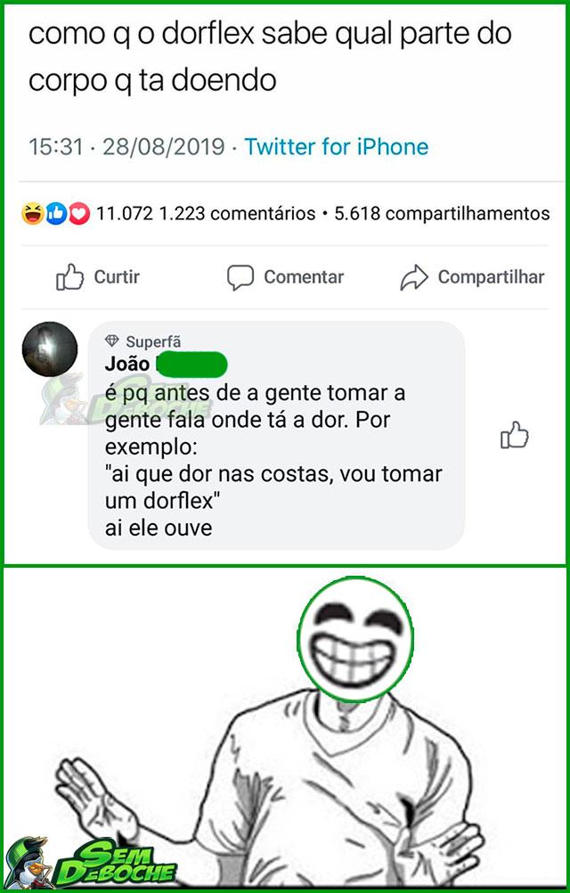 COMO O DORFLEX FAZ PRA CURAR SUA DOR