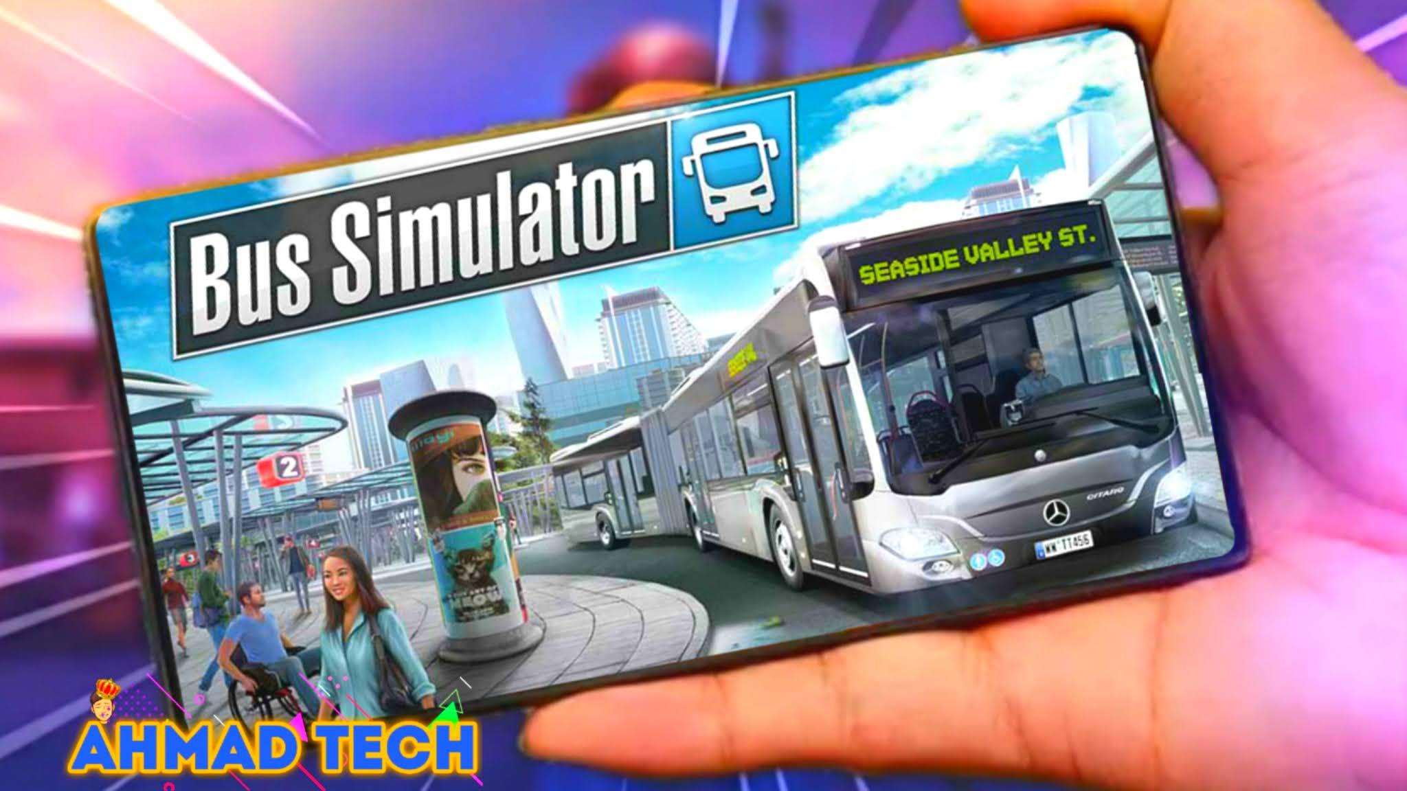 جيم بلاي محاكات الحافلة Bus Simulator و طريقة تنزيلها على الأندرويد +HD