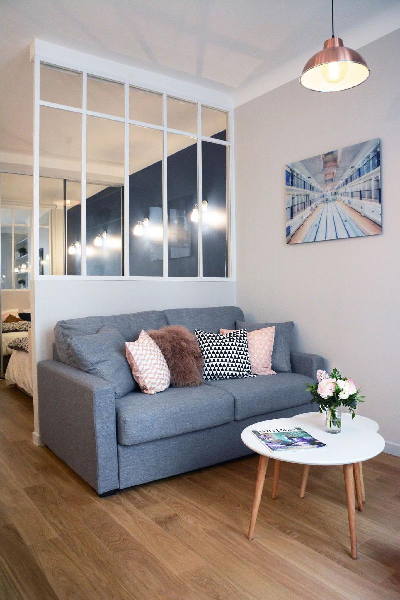 Cucina Soggiorno Stretta E Lunga la trasformazione di un ordinario appartamento di 30 mq a