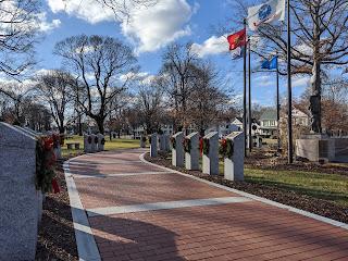 Veterans Memorial Walkway
