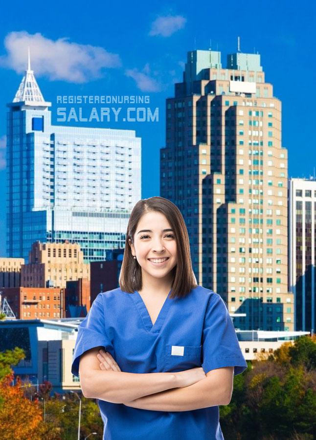 registered nurse salary in nc