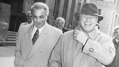 John Gotti and attorney Bruce Cutler