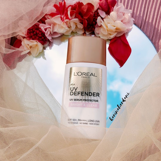loreal uv defender bright & clear sunscreen