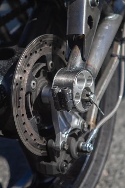 Julian Farnam Dirtbag Rat Yamaha Banshee RZ350 Rear Wheel