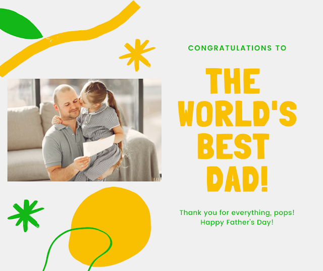 Father Day Image from Son