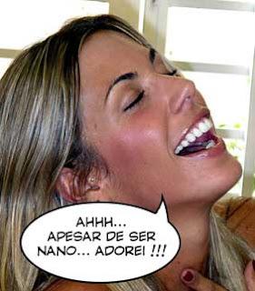 """Joana Prado dizendo """"Ahhh... apesar de ser nano... Adorei !!!"""""""