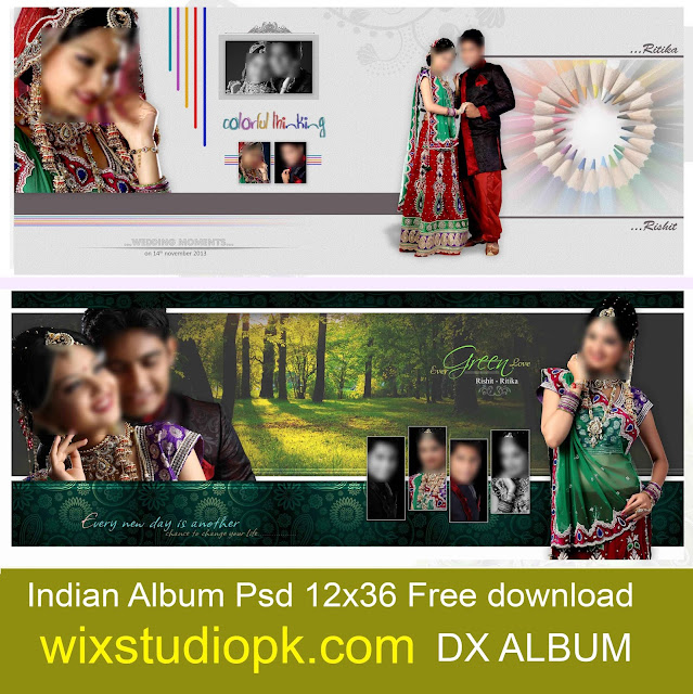 indian Album Psd 12x36 - Wedding Album 12x36 Free Download