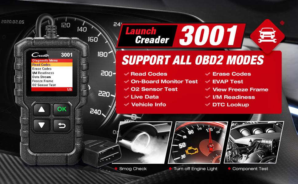 Launch Rceader CR3001