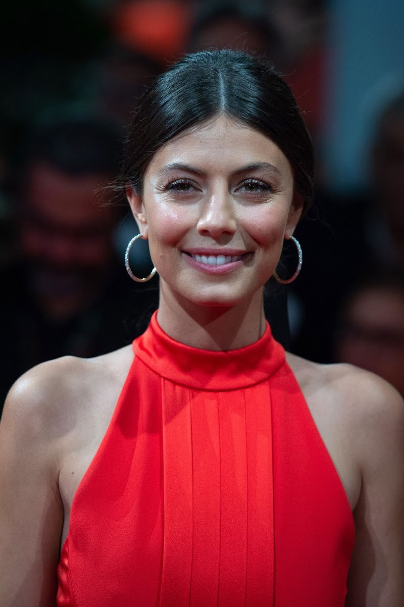 Alessandra Mastronardi clicks at The Waiting for the Barbarians Premiere at 2019 Venice Internatinal Film Festival 6 Sep-2019