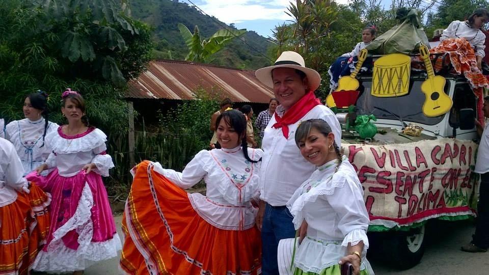 Feria y fiesta del Campesino