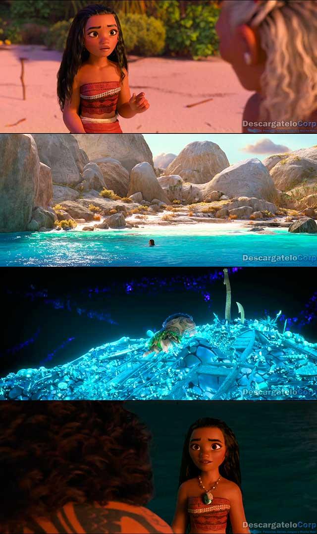 Moana Un Mar de Aventuras (2016) HD 1080p Español Latino