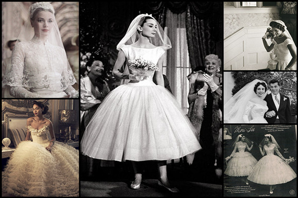 50s Style Wedding Dresses Inspire You | Women's Fashion