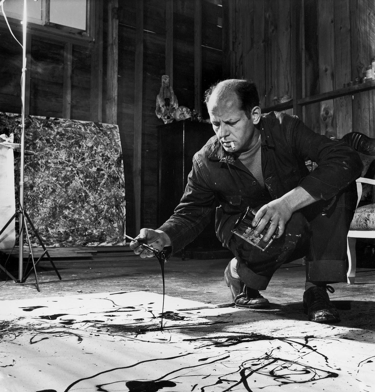 ARTE PARA NIÑOS: Jackson Pollock y el Expresionismo abstracto al ...