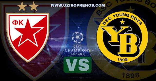 Liga šampiona: Jang Bojs - Crvena zvezda uživo preno