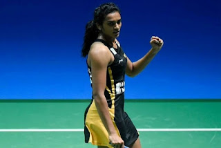 Sindhu 1st Indian to reach 3 consecutive World Championships finals