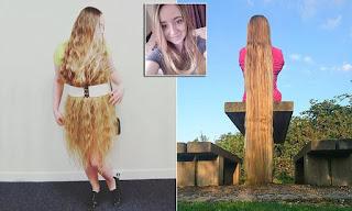 Rapunzel da vida real