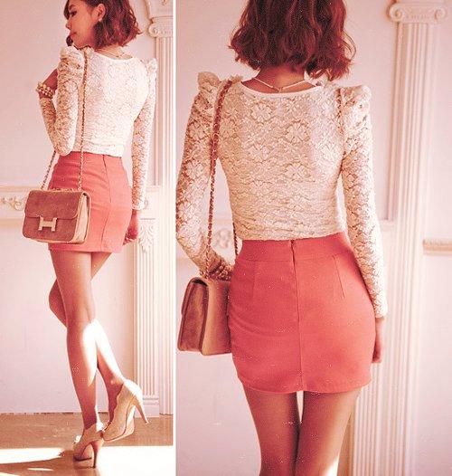Cute Asian Skirt 78