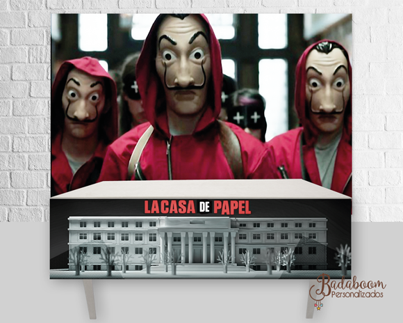 La Casa de Papel, A Casa de Papel, Arte, digital, kit, painel, festa, temática, filme, seriado, personalizada, poster, banner