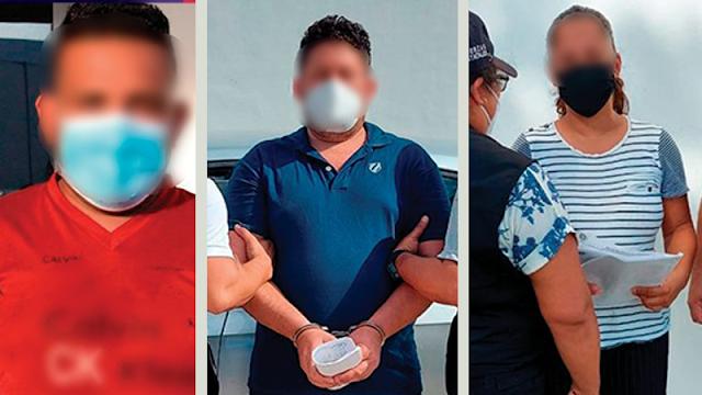 Detenidos tres acusados de tentativa de robo con violencia
