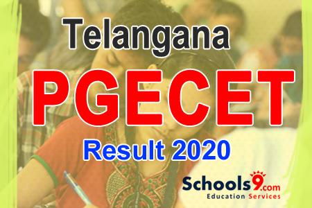 TS PGECET Result 2021