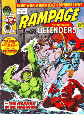Rampage #25, the Defenders