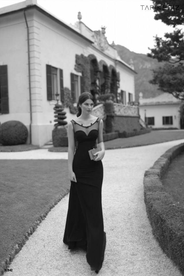 la moda de los vestidos largos