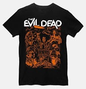 The Evil Dead Official 40th Anniversary T-shirts
