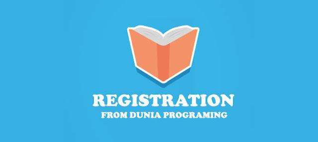 Cara Membuat Register dengan PHP Keren